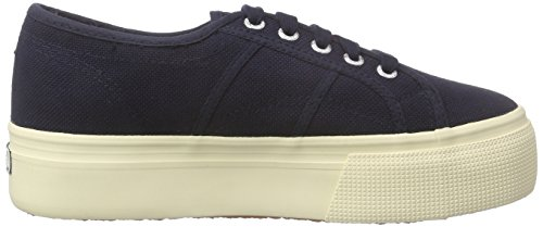 Up 933 Superga Blau and Femme 2790 Down Acotw Baskets Linea Bleu qqvPt