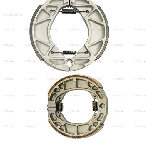 CNBP Front & Rear Brake Shoe fit Honda ATC 125 (84-87) 185 (80-83) 200 Big Red (81-84) TRX 90 Fourtrax Sportrax (93-16) 90 P (93-06) 125 (85-88) semi Metallic