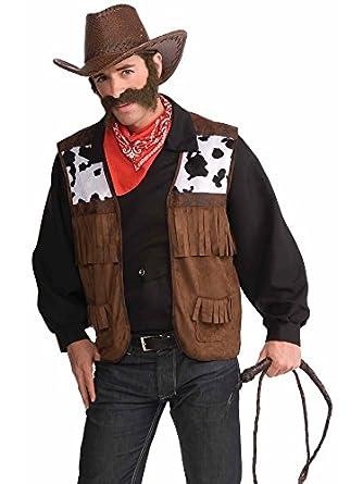Wild Western Costume Cowboy Vest Adult  sc 1 st  Amazon.com & Amazon.com: Wild West Menu0027s Vest: Clothing