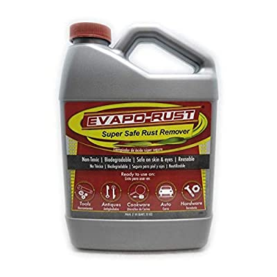 Evapo-Rust, The Original Super Safe Rust Remover, Water-based, Non-Toxic, Biodegradable, 32 oz