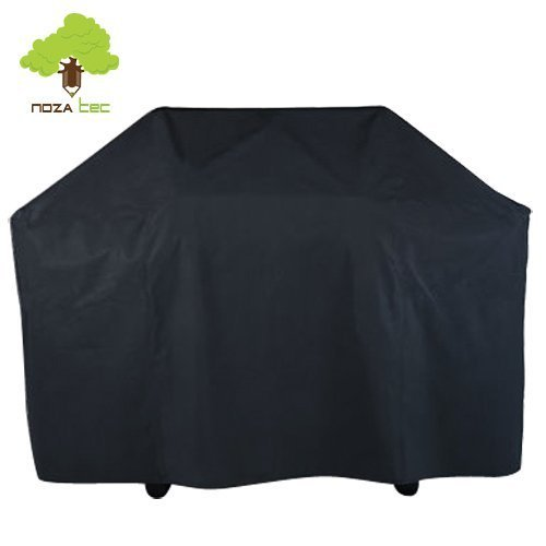 Noza Tec Grill Cover,46'' High 57'' Width Waterproof Heavy Duty BBQ Cover Outdoor Barbecue Garden Patio Grill Protector Design w/ 2 Free BBQ Brushes by Noza Tec