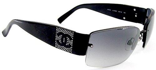 Amazon.com: New Chanel Sunglasses 4117-B 4117B Black Frame ...