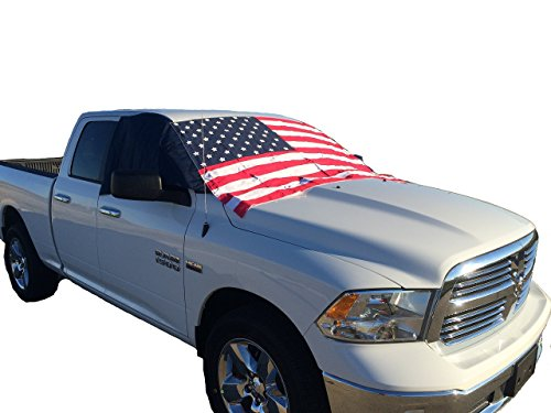 Winter Windshield Cover - American Flag