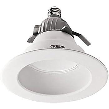 Cree cr6 6 led edison base 50000 life hours 2700k 105 watts cree lighting cr6 625l 40k 12 e26 led downlight 6 recessed 120v e26 base 4000k dimmable 625 lumens aloadofball Choice Image