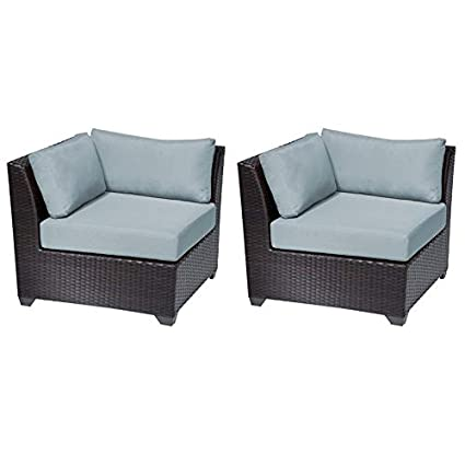Amazon.com : TK Classics Barbados Corner Sofa 2 Per Box ...