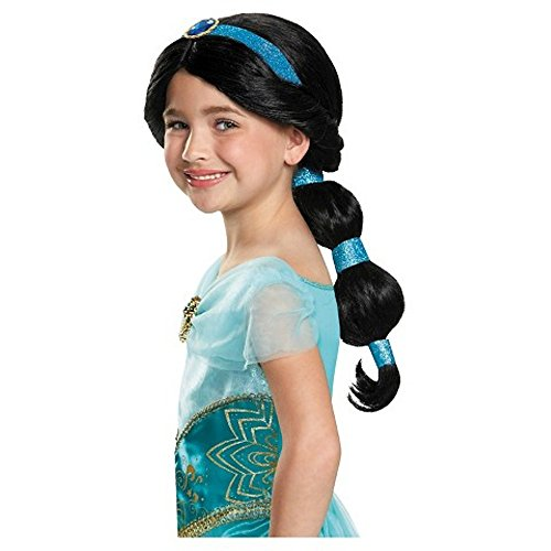 [Disney Princess Jasmine Costume Accessory Wig ~ Diguise] (Princess Jasmine Wig)