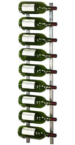 Platinum Magnum Series 9 Bottle Wall Mounted Wine Rack