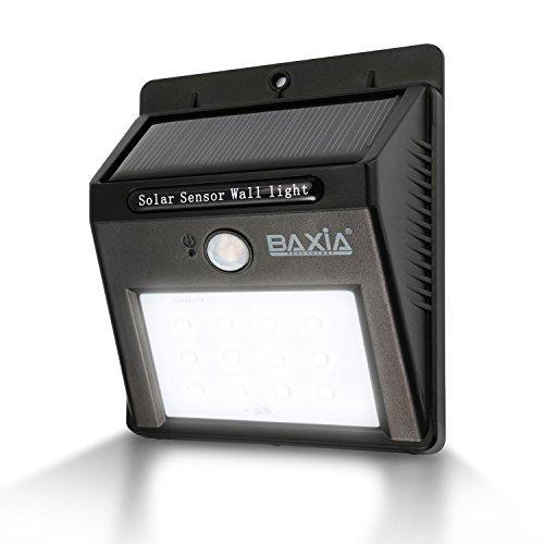 BAXIA TECHNOLOGY Waterproof Wireless Solar Moti...