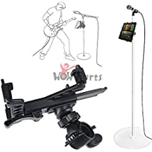 """LinkStyle Music Microphone Stand Tablet Holder Mount, 360° Swivel Adjust Holder For 7-11"""" Tablet iPad Air 5 4 3 2 SamsungTab(iPad & Stand is not included)"""