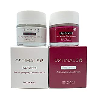 ORIFLAME Optimals Age Revive Day Cream SPF15 + Night Cream Set of 2