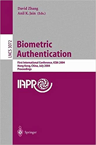 Biometric Authentication: First International Conference,
