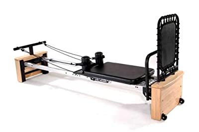 Stamina AeroPilates Pro XP Home Pilates Reformer with Free-Form Cardio Rebounder