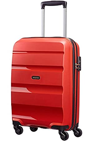 American Tourister Bon Air Spinner S Strict Equipaje de cabina, 55 cm, 30 L, Rojo (Rojo): Amazon.es: Equipaje
