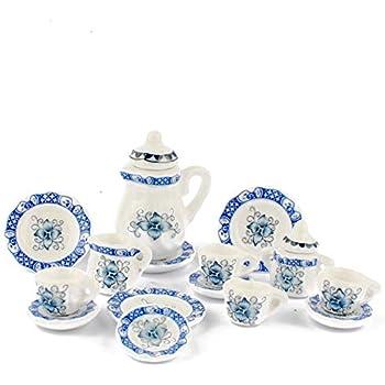 Dollhouse 10 Miniature Cups Lot 1:12 Scale 1.2cm Random Colors US Seller