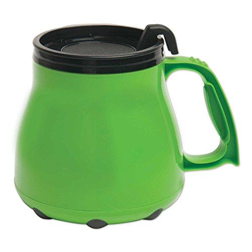 Low Rider No Tip Desk Mug, Coffee Mug, Made in America (Lime)