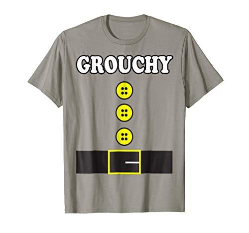 Grouchy Elf Dwarf Halloween Costume Shirt Seven Group -
