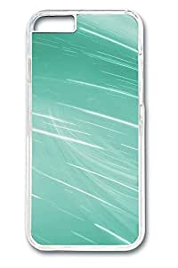 Aero Green 6 Cover Case Skin for iPhone 6 Hard PC Clear