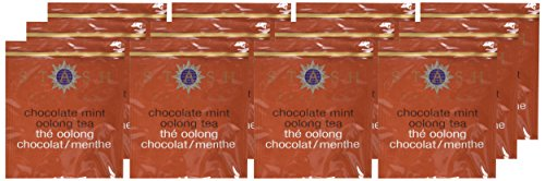 Stash Tea Chocolate Mint Wuyi Oolong Tea 10 Count Tea Bags in Foil (Pack of 12) (packaging may vary) Individual Black Tea Bags for Teapots Mugs or Cups, Brew Hot Tea or Iced Tea, Fair Trade Certified by Stash Tea (Image #1)
