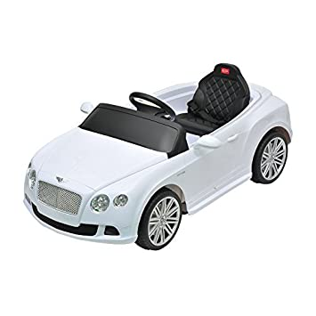 bentley gtc kids 6v electric ride on toy car w parent remote control white