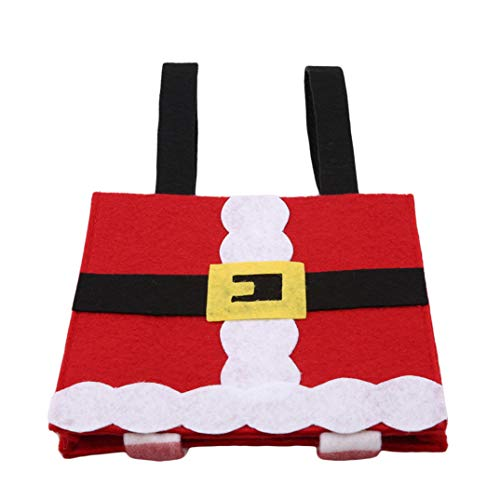 Candy Decoration Bag Pack Gift Square Joofff Tree Pendant Christmas Red n0HXCS