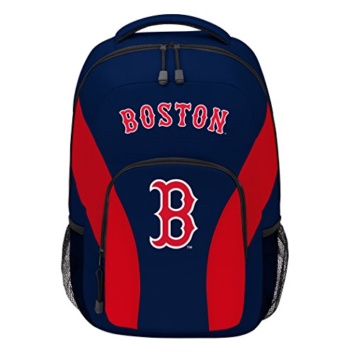 The Northwest Company MLB Boston Red Sox DraftDay Backpack, 18-Inch, - Red Boston Backpack Sox