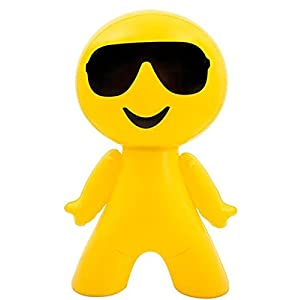 """27"""" Inflatable Cool Guy In Sunglasses Emoji Emote Face Man Decoration"""