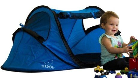 Baby-Nook-Travel-Bed-and-Beach-Tent-blue-  sc 1 st  Discount Tents For Sale & Baby Nook Travel Bed and Beach Tent (blue) Provides Shade and ...