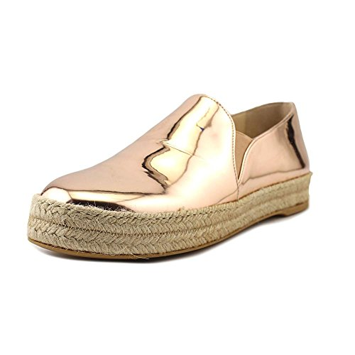 Stuart Weitzman Nugal Women US 6.5 Gold Loafer by Stuart Weitzman