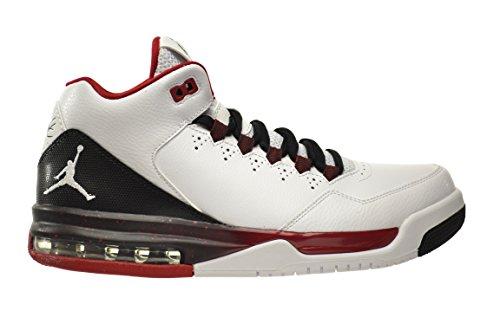 Jordan Flight Origin 2 Men's Shoes White/White-Black-Gym Red 705155-101 (8.5 D(M) US)
