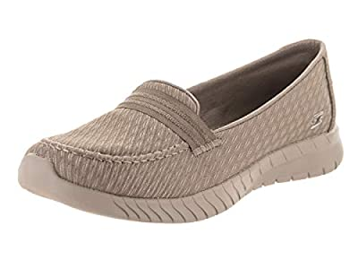 Skechers Wave Lite Side by Side Womens Slip On Loafers