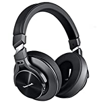 Noise Cancelling Headphones, Bluetooth Headphones with Microphone Wireless Over Ear Headphones Active Noise Cancelling with Hi-Fi Stereo Sound Headphones Supports Wired Mode Phones, PC, TV Air Travel