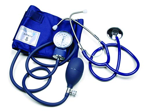 (Lumiscope Blood Pressure Kit with Aneroid Sphygmomanometer and Stethoscope, Large Adult Cuff, 100-019CHI)