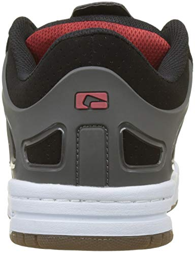 Agent Noir charcoal red black Skateboard 10014 De Homme Chaussures Globe xXAdq077