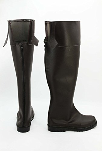 Bromeo Attack on Titan Shingeki No Kyojin Anime Levi Cosplay Chaussure Bottes Boots