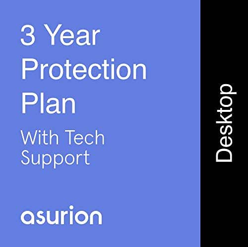 ASURION 3 Year Desktop Computer Protection Plan with Tech Support $1000-1249.99