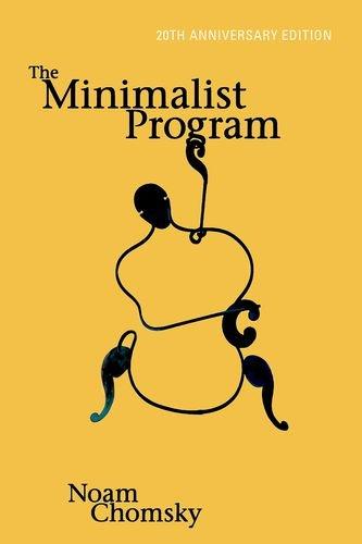 The Minimalist Program (Mit Press)