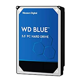 Western Digital 1TB WD Blue PC Hard Drive – 7200 RPM Class, SATA 6 Gb/s, , 64 MB Cache, 3.5″ – WD10EZEX