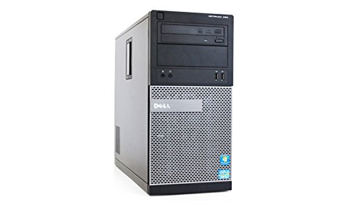 Dell Optiplex 390 Tower Business High Performance Desktop Computer PC Wi-Fi (Intel Quad-Core i5-2400 up to 3.4GHz, 8GB DDR3 Memory, 2TB HDD, DVD, Windows 10 Pro 64-bit HDMI (Certified Refurbishedd) (Computer Tower Hdmi Pc)
