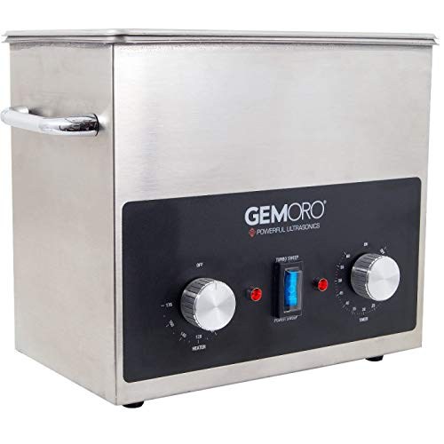 Gemoro 3QTH Next-Gen UltraSonic Jewelry Cleaner