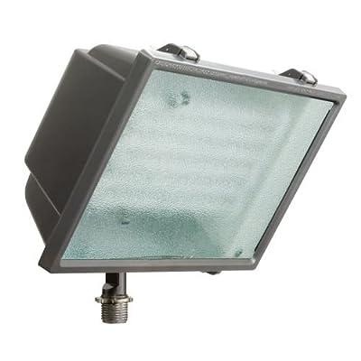 Lithonia Lighting OFL2 65F 120 LP BZ M4 Standard Flood Light with 65-Watt 6500K Triple Tube Compact Fluorescent Lamp