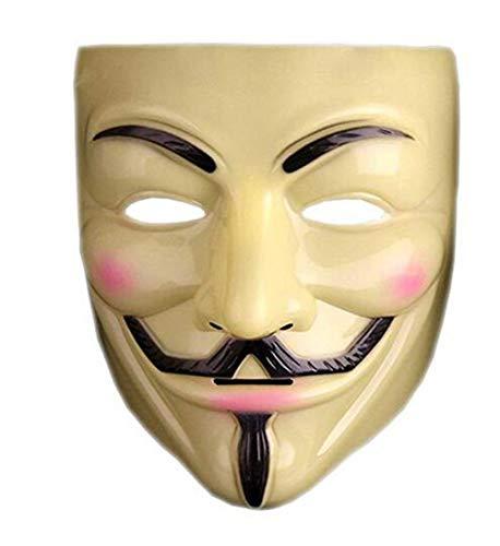 Masquerade Hacker Mask Cosplay V Word Mask -