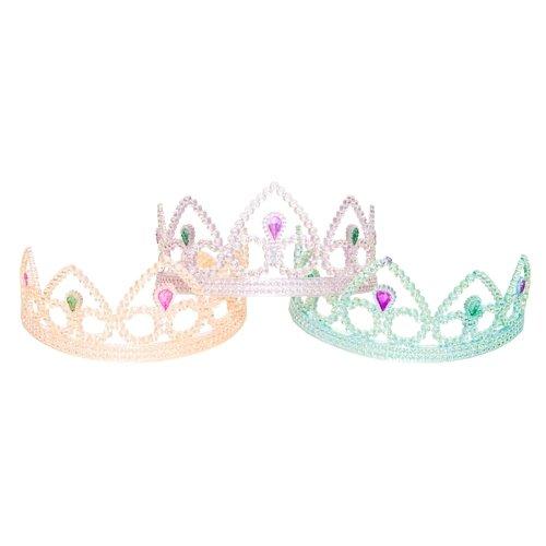 Colorful Princess Party Tiaras - 12 per unit, Assorted Colors