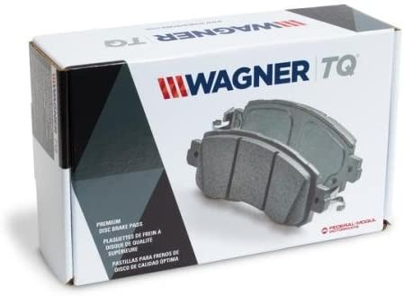 Front Wagner ThermoQuiet MX1204 Semi-Metallic Disc Pad Set