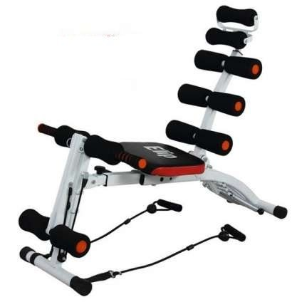 CARDIOWORLD Abs Trimmer Wonder Core Orange & Black