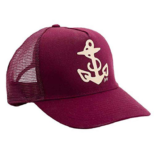 - Sailor Jerry Anchor Trucker Hat Burgundy