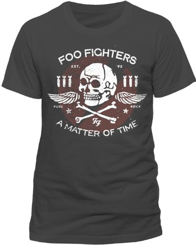 Music Standard T Foo charcoal matter shirt Fighters Time Of Tee Grigio Uomo qwBwpZ1
