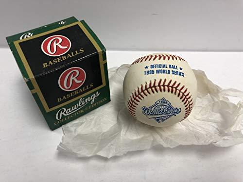 1995 Rawlings World Series Official League Baseball (Atlanta Braves/Cleveland Indians)
