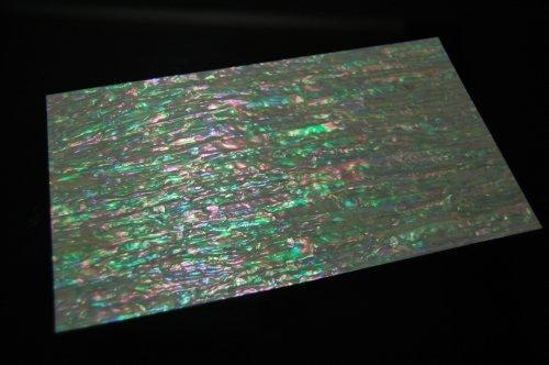 Abalone Mop - Prism Abalone Narrow Veneer Sheet