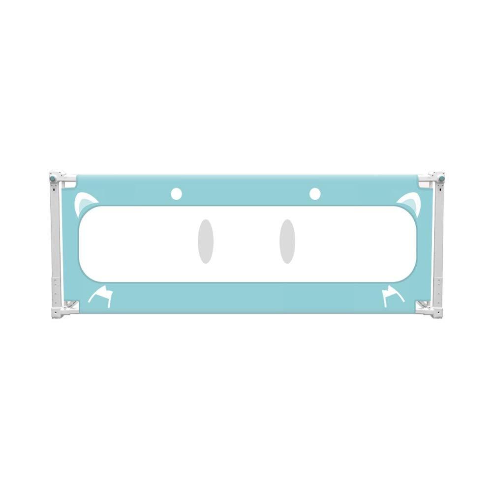 ベッドフェンス、携帯用縦の上昇のベッド柵の単一のベッドの監視高さ調節可能な安全保護の子供の塀(利用できる2色) (Color : A, Size : 1.8m) 1.8m A B07V7CM2CT