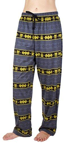 - DC Comics Batman Fair Isle Unisex Lounge Pants (Medium)